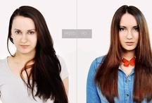 Włosy delikatnie cieniowane