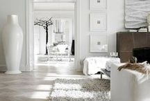 WHITE HOME INTERIORS: The Stylephiles Edit / Nothing beats the soothing restraint of an all white room. Just keeping it clean is the difficult part! Steph & Kaz x