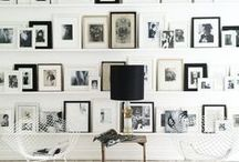 GALLERY WALLS: The Stylephiles Edit / A montage of memories, art and more - check our inspiration board for hundreds of ideas on how to turn your collection of framed treasures into the focal point of any room - Steph & Kaz x