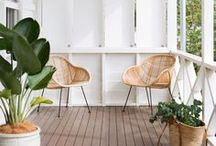 BALCONIES, COURTYARDS & PATIOS: The Stylephiles Edit / The Great Outdoors - ideas and inspiration to take your petite patio or big backyard from drab to fab - Steph & Kaz x