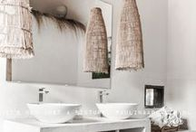 BATHROOMS: The Stylephiles Edit / The perfect room to exercise restraint - a great bathroom should be carefully planned, supremely functional and free of clutter.  Check our board for daily inspiration as we scour the web for the most beautiful bathrooms in the world - Steph & Kaz x