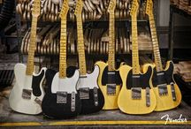 T - Style Guitars! / by Johnny M. Butler