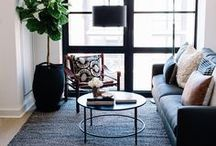 LIVING ROOMS: The Stylephiles Edit / The heart of any home, living rooms should be a place for rest and relaxation, entertaining and unwinding.  Check our Living Room Pinterest board daily for a load of beautifully put together living spaces to inspire - Steph & Kaz x