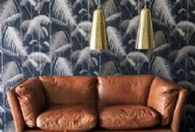 WALLPAPER & WALL TREATMENTS: The Stylephiles Edit / Patters, textures, colours - check our board for the latest and greatest in wall coverings, along with tried & true classics - Steph & Kaz x