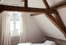EXPOSED BEAMS: The Stylephiles Edit / Lofty ceilings really show off their grandeur with exposed beams - let them shine and be the focal point of your room, or your whole house! - Steph & Kaz x