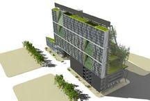 green building / duurzame architectuur, duurzaam bouwen