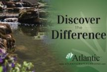 Atlantic Water Gardens / Atlantic Water Gardens has been manufacturing water feature equipment since the late 1980's and today continues to help people find products to create their backyard oasis!