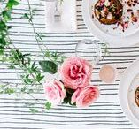 ENTERTAIN: The Stylephiles Edit / From an intimate dinner for two through to a bountiful wedding celebration - check our inspiration board for daily ideas on how to create the perfect setting to entertain in style! - Steph & Kaz x