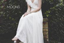 MOONS Varsovie wedding dresses / We create silk wedding dresses, dresses, dresses for bridesmaids, minimalistic assessories and handbags.  MOONS Varsovie <3 made in Poland www.facebook.com/moonsvarsovie