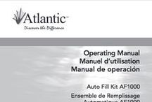 Atlantic Instruction Manuals / Instruction Manuals for all Atlantic Water Gardens Products