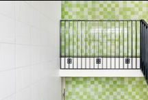 Colorful Inspiration / Brighten up your home inside and outside with Mosa. Tiles