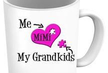 Grandkids / Grandkids - Pendants, T-Shirts, Coffee Mugs, Necklaces, Bracelets, Hoodies.  Men's and Women's - All Colors, Sizes and Styles available / by Designs by Cali Kay