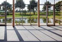 Mosa. Tiles : Quartz / The Quartz collection is a new generation of unglazed porcelain floor tiles with a rich appearance.