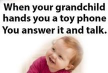 Being a Grandma / Being a grandma makes my life complete.  Meme, Mimi, Memaw, Gammy, Grams, Gigi, Mema, Grammy, Grammie, Gammie