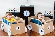Recycle, Reduce, Reuse / Wondering what to do with your Nook boxes? Why not turn them in to a fun craft for your littles!