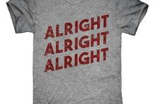 Great text tees / Classic textual t-shirt designs