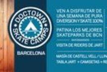 Doctown Skate Camps - Tus Campamentos de Verano / Campamentos de Skate en Verano, aprendiendo con los mejores profesionales y visitando los spots más conocidos en cada ciudad.