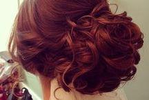 Her hair...