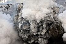 Fuego, Explosiones y Humo / Imágenes detalladas del efecto visual del fuego, las explosiones y el humo para trabajos de dibujo, pintura y modelismo