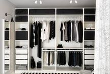 Walk in closet, wardrobe, garderobe...