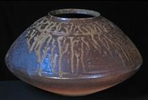 Clay and Fire / Clay & Fire features handmade ceramics fired in a Japanese style anagama kiln by an award winning husband and wife team, Estelle and Bruce Martin of Hastings. The exhibition is dedicated to the memory of Estelle Martin who passed away in 2001.