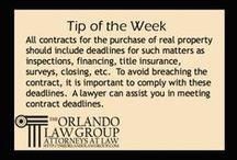 Legal Tips From The Orlando Law Group / Tips about your rights and legal issues From The Orlando Law Group in Orlando, FL (Avalon Park and Lake Nona)