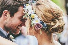 Wedding Hair Inspiration / Cute hair ideas I love for my wedding