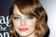 08Celebrity-Emma Stone艾瑪·史東 / 是一位瑞典裔美國女性演員。 史東曾參與FOX的電視劇集《不法駕駛》的演員組,後來參與演出了多部電影,其中2009年的驚慄喜劇電影《屍樂園》和2010年的青春喜劇電影《破處女王》更是以她為主角,更憑藉後者而獲提名為金球獎音樂及喜劇類電影最佳女主角 / by 黃 思恒