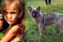 Karina and Her Wolf