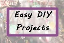 Easy DIY Projects / Easy DIY crafts, handmade creations, gift ideas and more!