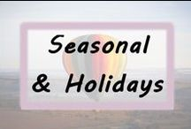 Seasonal & Holidays / Crafts, handmade creations, gift ideas and decorations for every season or holiday