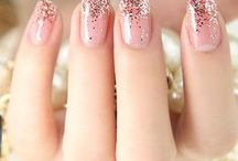 Wedding Nail Design Ideas / Leave no detail untouched with some classic nail design ideas for your wedding day!