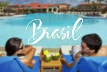 Your dream wedding in Brasil. / Why not have your dream wedding in Imbassaí, Brasil. Is this your ideal wedding setting?