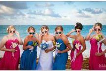 Bridesmaids/Damas de honor / Localizaciones e ideas increíbles para que la boda de tus sueños en Ibiza sea una realidad.  Best ideas and amazing bridesmaids dresses for making the wedding of your dreams come true.