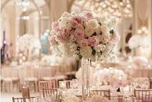 ∆ Glam Wedding Inspiration ∆ / Chic and Luxurious - find those inspiring touches of glamour and luxury on your wedding day!