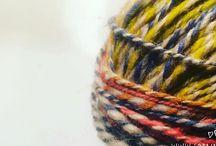 SpinnWeben Shop / Produkte aus handgesponnener und handgewebter Wolle