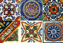 Mexikanische Fliesen / Handbemalte mexikanische Fliesen aus Keramik http://www.buntesmexiko.de/category/mexikanische-fliesen
