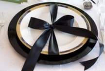 At the Table / Beautiful place settings and table scapes. / by Weddings by Renee St. Louis
