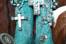 Jewelry - Turquoise & Coral / My siblings and I grew up making Indian jewelry with our dad. I feel quite a connection with Mother Earth when I wear turquoise jewelry.  / by Barbara Olson