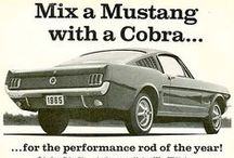Classic Mustang Ads / Classic Ford Mustang Ad's