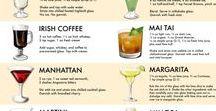 cockteles y bebidas / bebida refrescantes