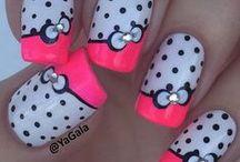 cute nail art collection / nail art / by lalaskye