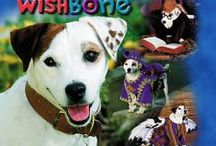 Wishbone / There was a time when I hated reading. This was before I met Wishbone and fell in love with him and his many book series including; The Adventures of Wishbone, The Super Adventures of Wishbone, Wishbone Mysteries, Wishbone Super Mysteries, Wishbone's Tales of a Pup, Wishbone the Early Years, and Wishbone Classics. Because of him not only did I become a reader but an author as well so he definitely deserves to have his own board.