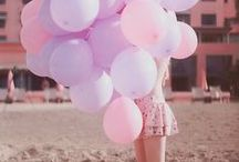 <Balloon addiction> / °Playful, fun and colourful!°