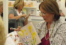 painting tutorials inc one stroke . & Donna dewbery  tutorials mixed media. / by Julie Fullman