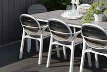 Nardi Outdoor Furniture / Nardi is one of the most dynamic industrial companies in the wide panorama of garden and community furniture.  Created in 1990 in Vicenza, Italy, the company has distinguished itself from the outset with products that combine innovative content with high quality standards. The outstanding international vocation of the company has allowed it to deliver this on a global scale.  Their range includes outdoor chairs, tables, stools, sun loungers, reclining chairs and many more items.