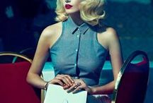 50s Fashion / Fashion style from the 50s and retro Styles Mixed with modern items. Love it! http://purpleglory.de