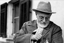 Matisse, Henri-Émile-Benoît / A French artist, known for his use of colour and his fluid and original draughtsmanship. He was a draughtsman, printmaker, and sculptor, but is known primarily as a painter. He was a leading figure in modern art. 31 December 1869 – 3 November 1954