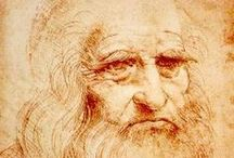 da Vinci, Leonardo / Italian polymath, painter, sculptor, architect, musician, mathematician, engineer, inventor, anatomist, geologist, cartographer, botanist, and writer. He is widely considered to be one of the greatest painters of all time and perhaps the most diversely talented person ever to have lived.  15 April 1452 – 2 May 1519