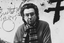 Tàpies, Antoni / A Spanish painter, sculptor and art theorist, who became one of the most famous European artists of his generation. 13 December 1923 – 6 February 2012
